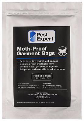 Moth Proof Garment Bags 3 Pack
